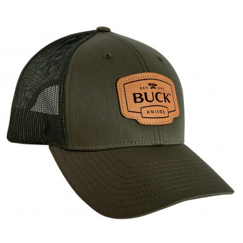 Бейсболка BUCK 89139 LEATHER PATCH