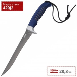Нож BUCK 0223BLS SILVER CREEK, 6 3/8 FILET KNIFE