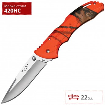 Нож BUCK 0286CMS9 BANTAM ORANGE BLAZE